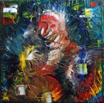 """Carnaval"" - Huile 30/30 - 170€"