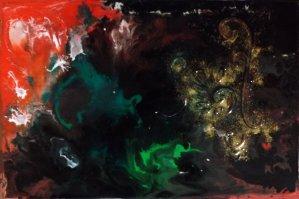 """Fantaisie"" - Acrylique 27/41 - 95€"