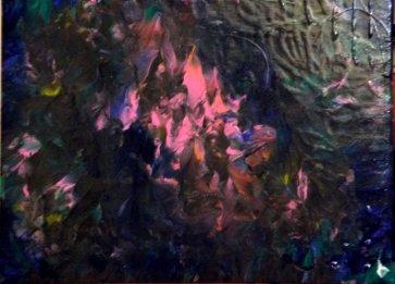 """""""Renaissance"""" - Acrylique 30/40 - 110€"""