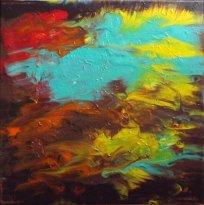 """Symphonie marine"" - Acrylique 40/40- 110€"