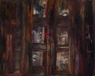 """""""De l'autre côté du miroir"""" - Huile 33/41 - 170€"""