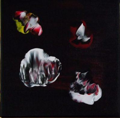 """""""Feux Follets crépusculaires""""-Acrylique 20/20-50€"""