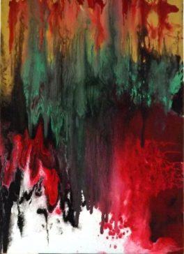 """""""Une lueur d'espoir""""-Acrylique 40/50-220€"""
