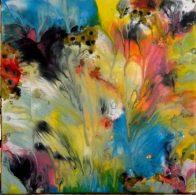 """""""Symphonies des couleurs""""-Encres-30/30-110€"""