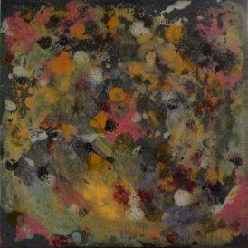 """Ambiance pastel""Acrylique,encres,vitrail 40/40-165€"