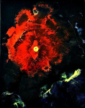 """""""Esculape""""-résine & pigments-40/50-220€"""
