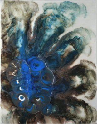 """""""Janus""""-résine & pigments-40/50-220€"""